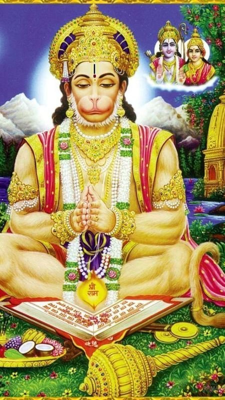 Bhakt Hanuman Wallpaper