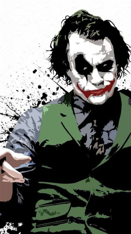 Joker Graffiti Wallpaper