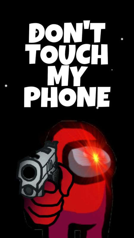 Wallpaper Cool Dont Touch My Phone
