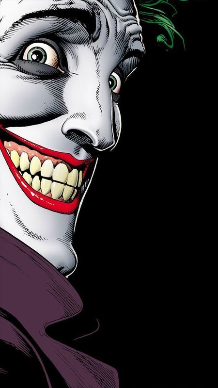 Joker side face Wallpaper