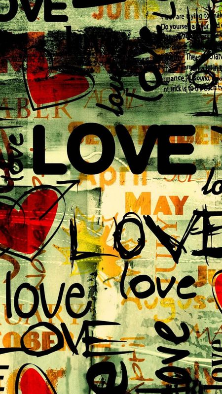 Love poster Wallpaper