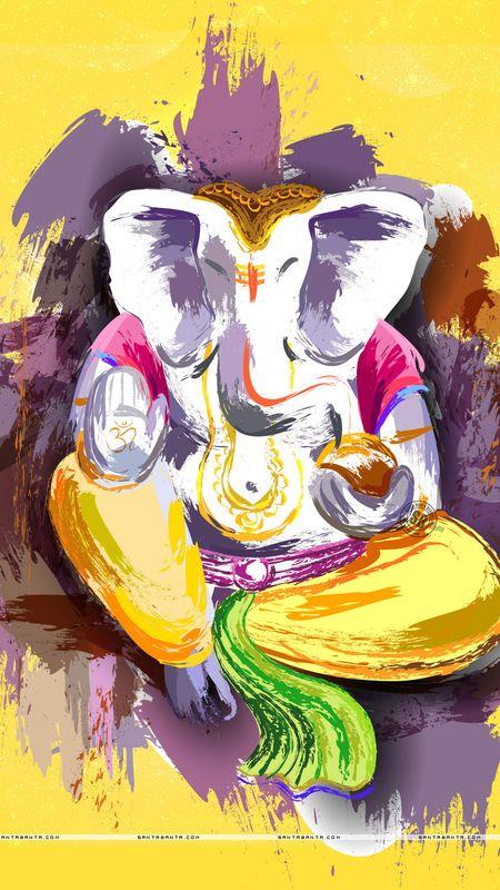 Ganesha Art Wallpaper