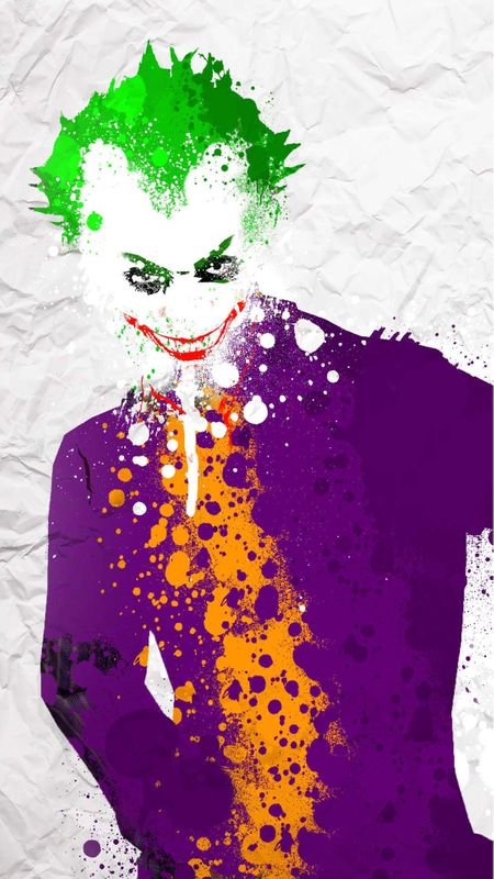 Joker art Wallpaper