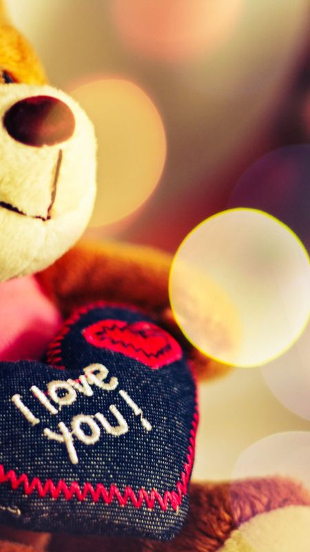 Teddy I love you Wallpaper