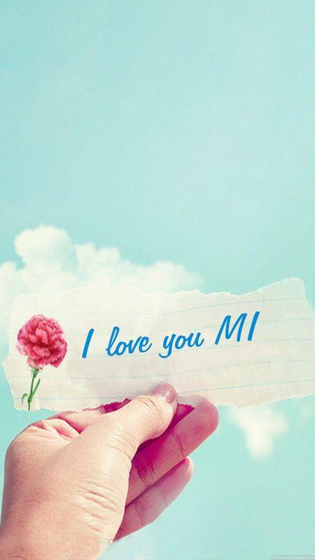 I love you MI Wallpaper