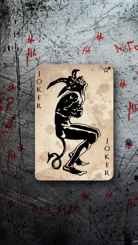 Joker card HD Wallpaper