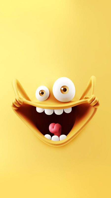 Cute - Smiley HD Wallpaper Wallpaper
