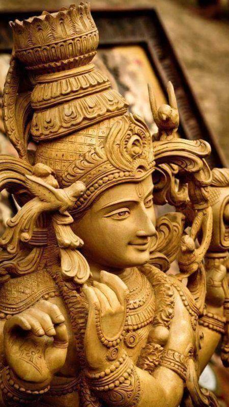 Krishna Idol Wallpaper