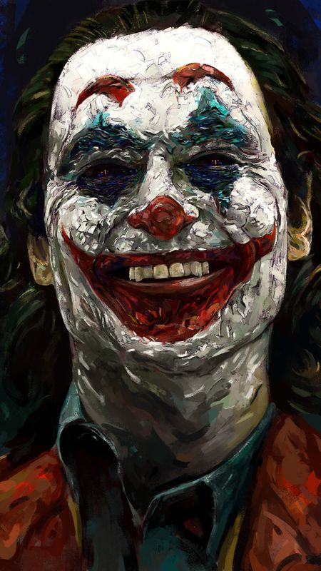 Joker Painting Wallpaper