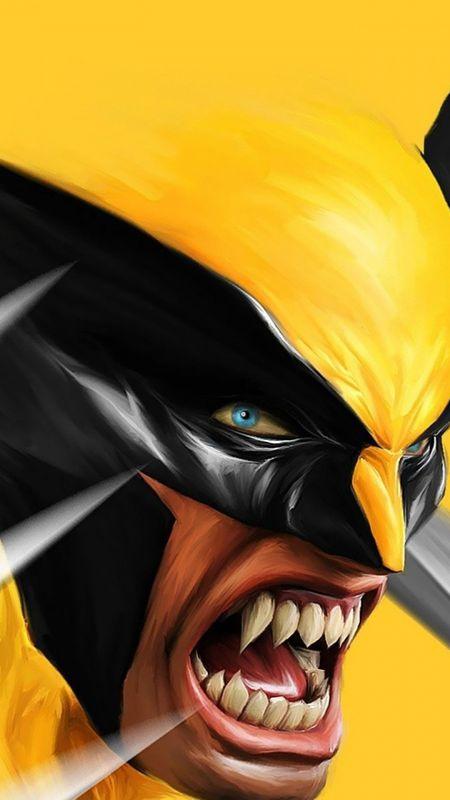 Wolverine Cartoon Wallpaper