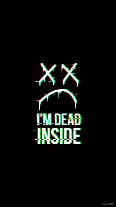 Dead Inside Wallpaper