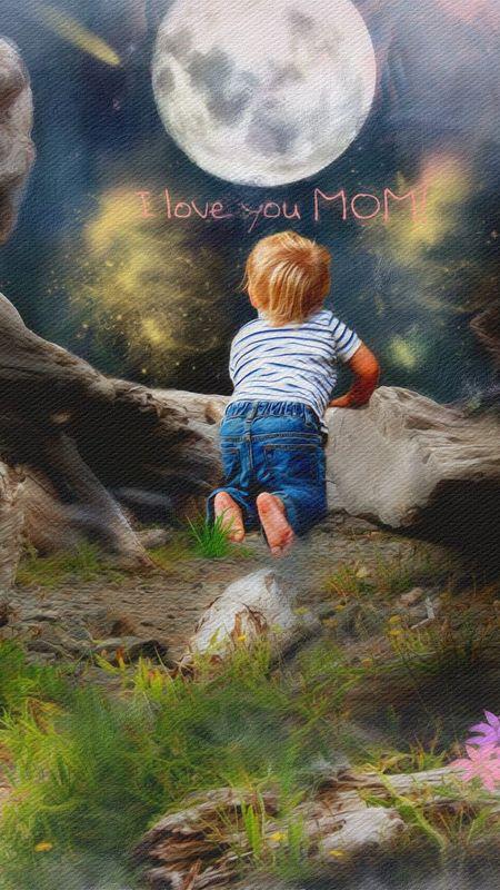 Love- I Love You Mom Wallpaper