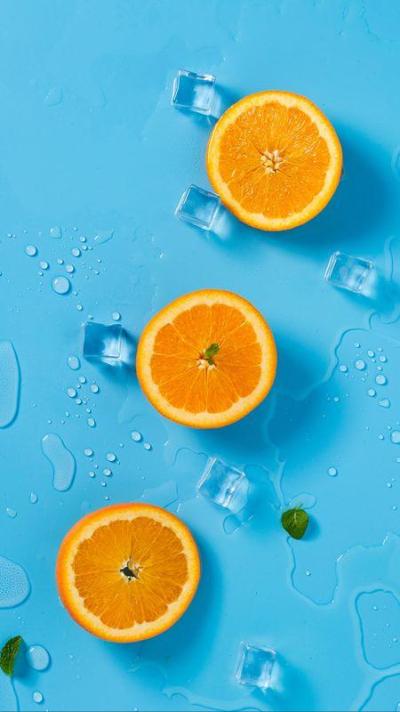 Cool Oranges Wallpaper