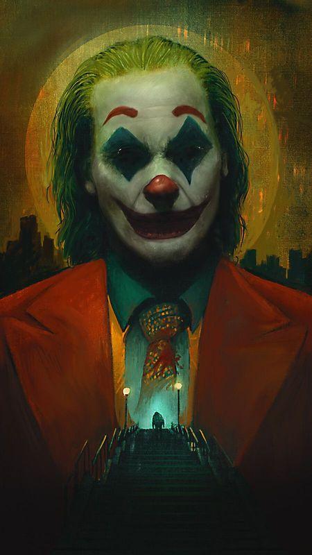 Joker heart Wallpaper