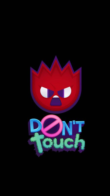 Angry Don't Touch Wallpaper