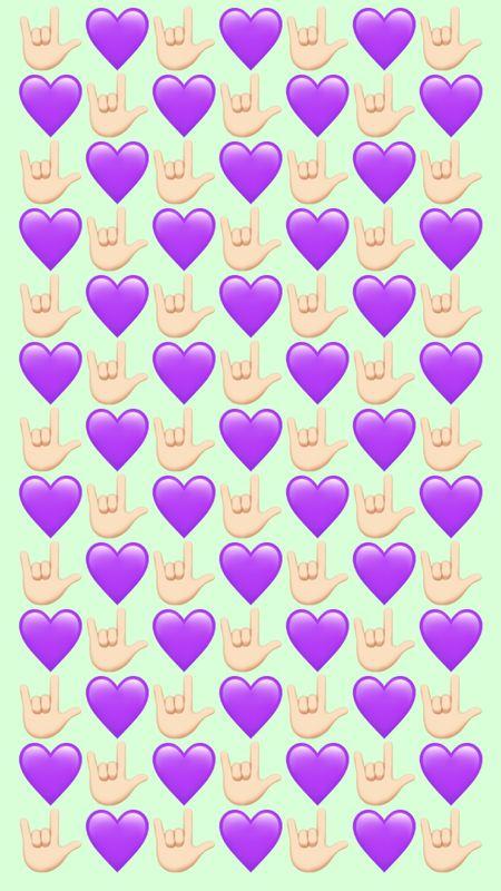 Cool Hearts Wallpaper