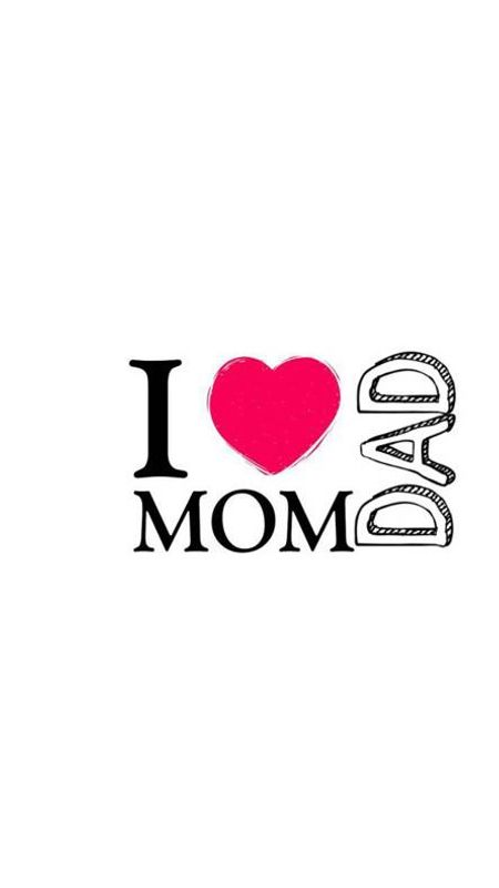 I love mom and dad Wallpaper