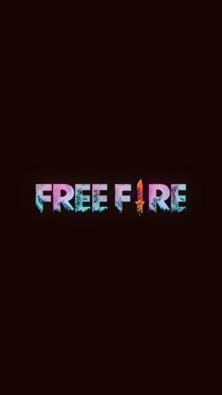 Free Fire Color Logo Wallpaper
