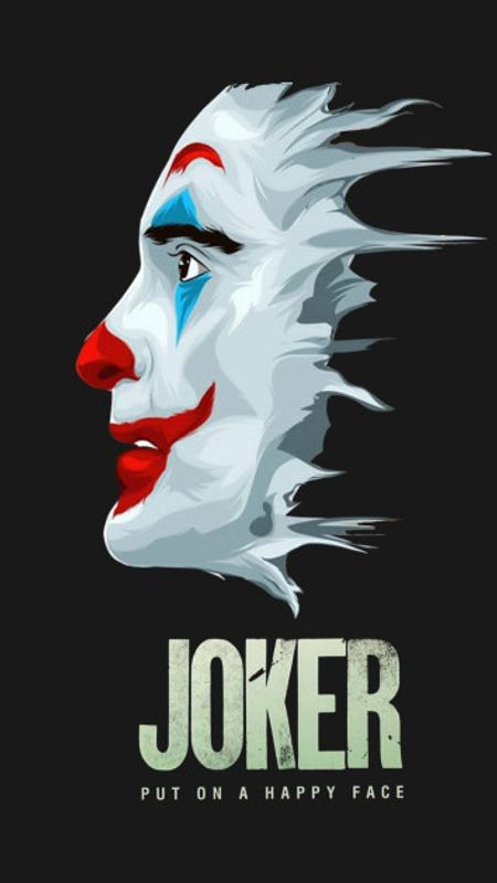 Joker Mask Profile Wallpaper
