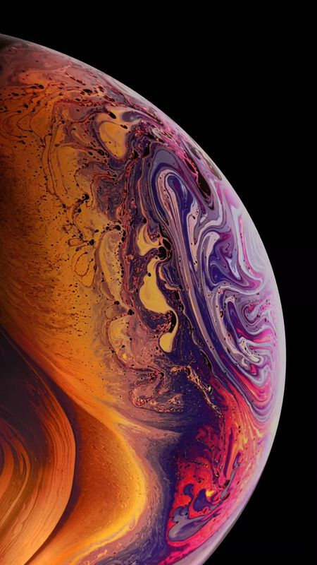 Iphone Colorful Planet Wallpaper
