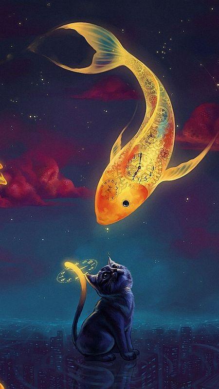 Gold fish Wallpaper
