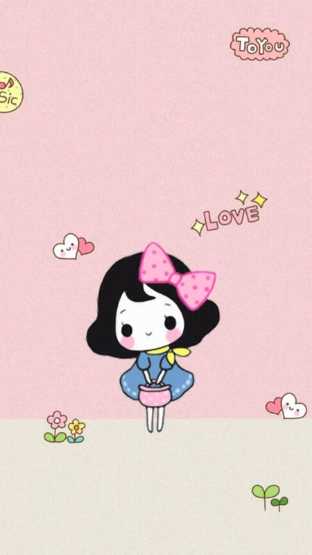 Cute girl Wallpaper