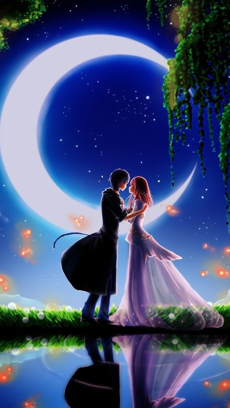 Fairytale love Wallpaper