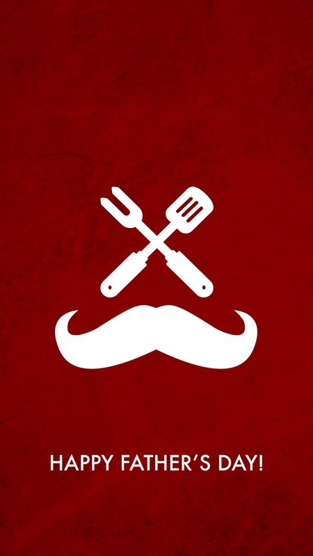 Father Mustaches Wallpaper