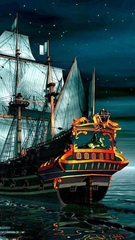 SHIP OF KING Wallpaper