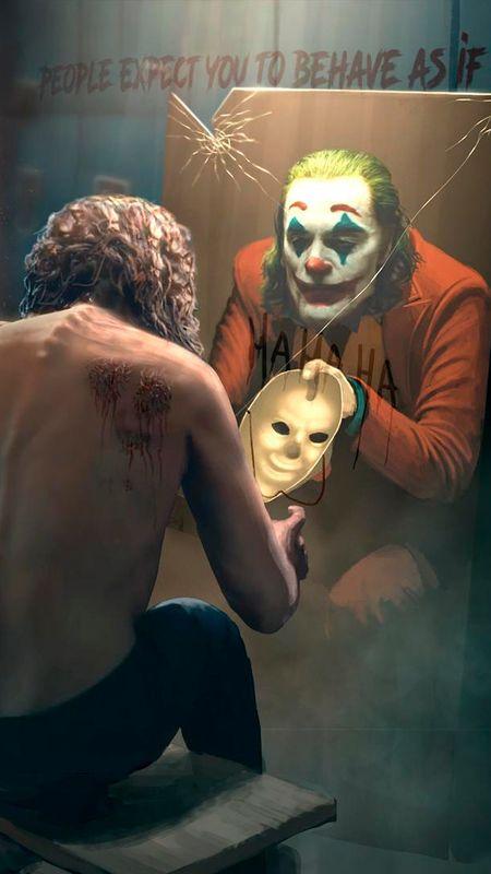 Joker Mask Wallpaper