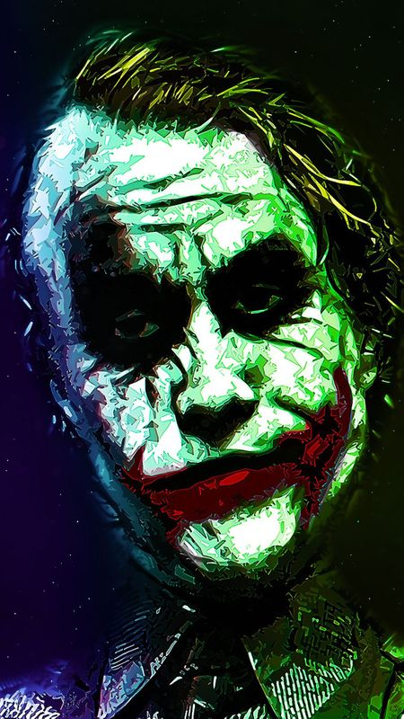 Heith Ledger Joker Wallpaper