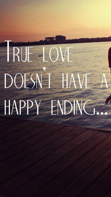 True love quotation Wallpaper