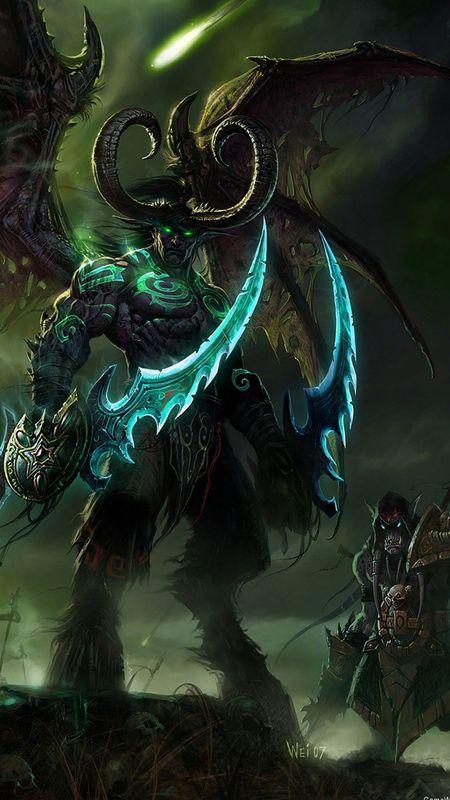 Monster And Dragon Wallpaper