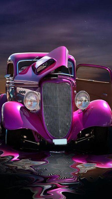 Molten Car Wallpaper