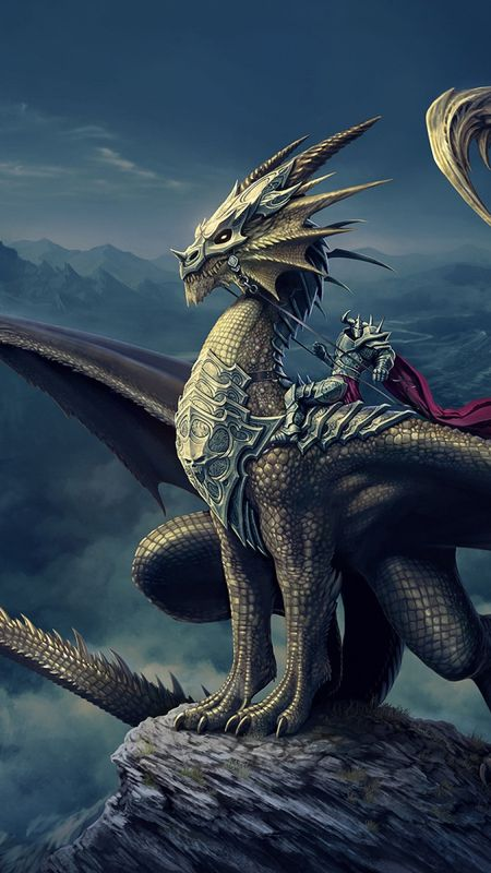 Cool Dragon Wallpaper