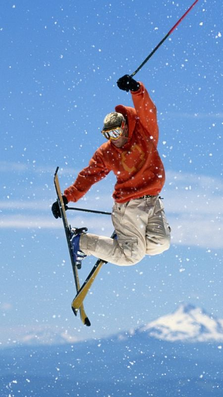 Sports-Skiing Wallpaper