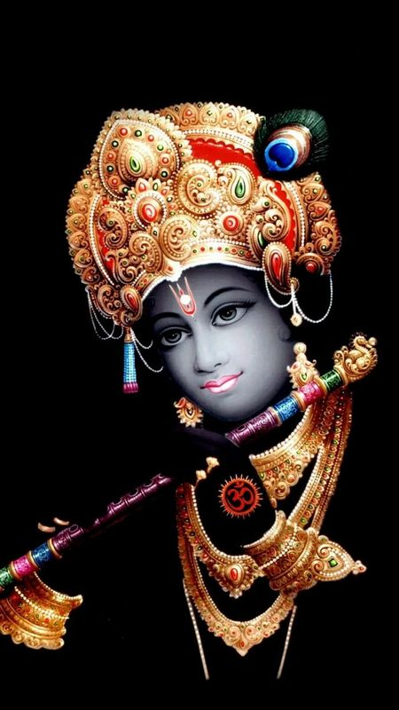 HINDU GOD - SHREE KRISHNA Wallpaper