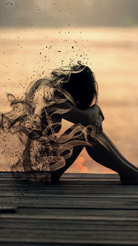 Sad Woman Wallpaper