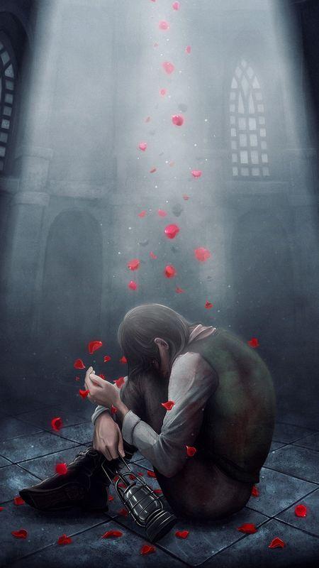 Broken in Love Wallpaper