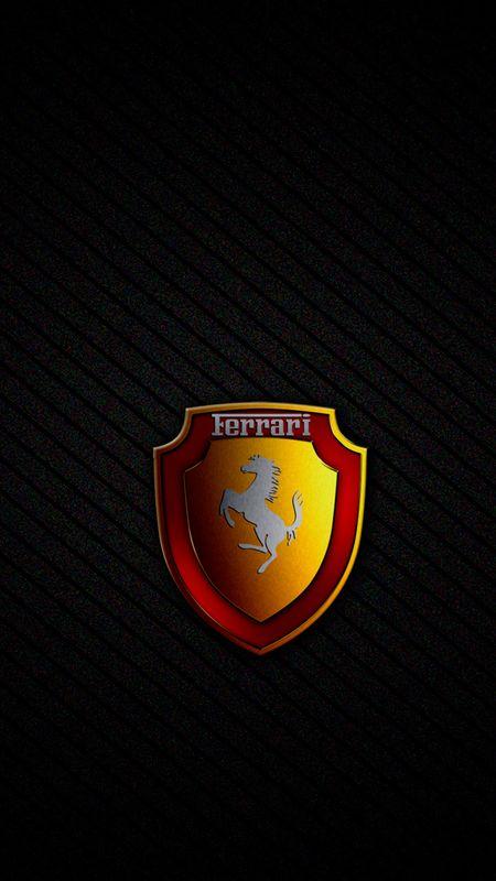 Ferrari Cool Logo Wallpaper