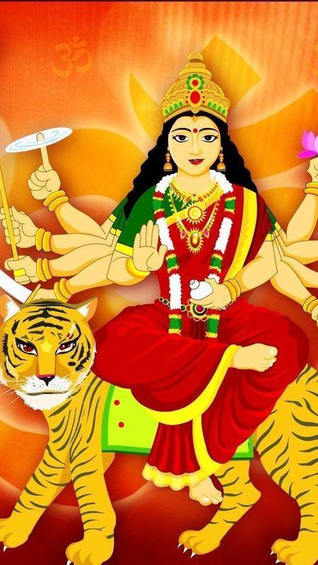 Devi maa Wallpaper
