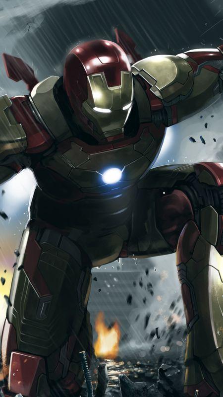 Iron Man Superhero Wallpaper
