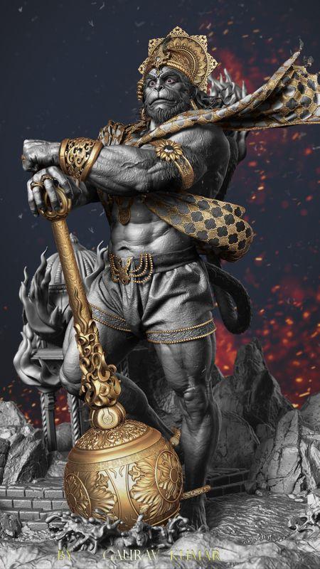Lord Hanuman Wallpapers Download Mobcup