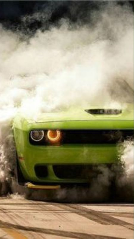Car Smoke Wallpaper