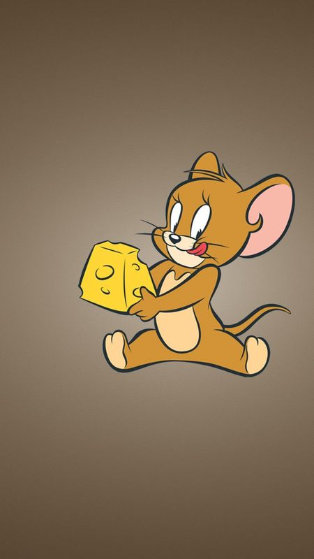 Jerry with Cheese Wallpaper