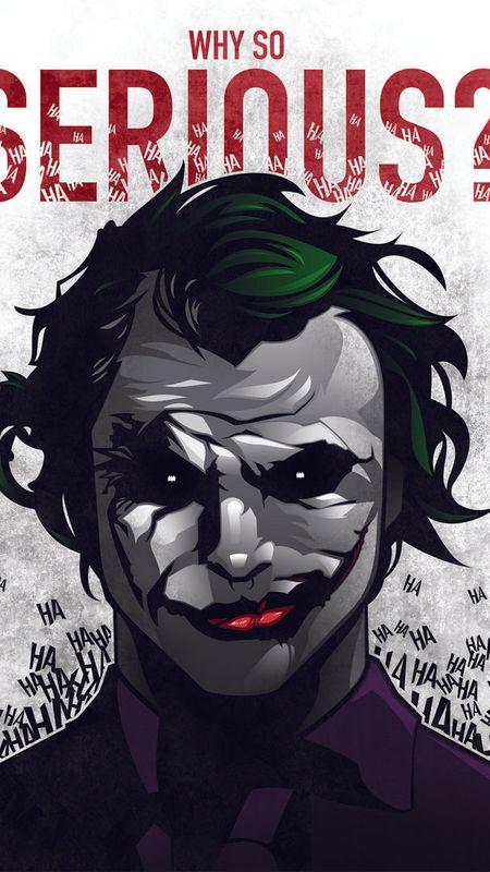 Joker Face Smile Wallpaper